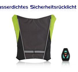 JCMASTER LED Rücklicht Fahrtrichtungsanzeiger Blinker Radsport mit Fernsteuerungsanlage