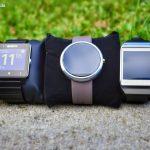 Smartwatch vergleich - Moto 360 Galaxy Gear Sony Smartwatch 2