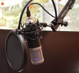 Popschutz am MCU-02 USB Mikrofon
