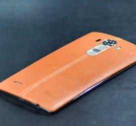 LG G4 Smartphone mit Lederrückseite