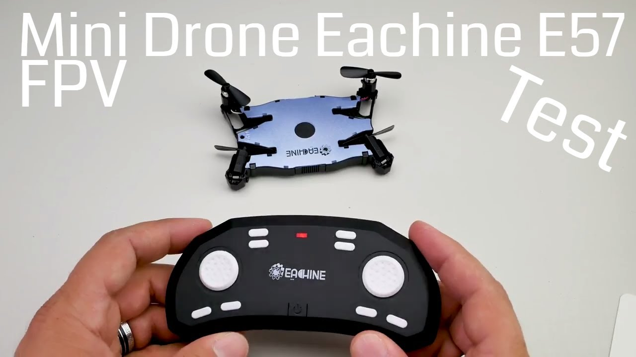 mini selfie drone eachine e57 mit hd kamera im test. Black Bedroom Furniture Sets. Home Design Ideas